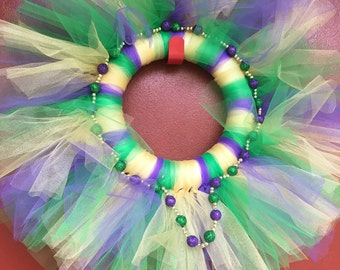 Beautiful custom tulle wreaths for sale