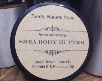 Natural Organic Shea Body Butter