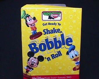 Vintage Keebler - Disney Store Display of Shake Rattle & Roll  with Seven Knodders in Great Condition