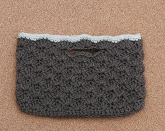 Brown & Cream Purselet --