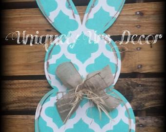 Bunny Door Hanger, Easter Door Hanger, Rabbit Door Hanger, Door Hanger, Easter, Happy Easter, Easter Bunny Door Hanger