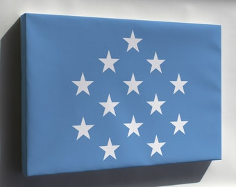 Canvas 24x36; Medal Of Honor Flag