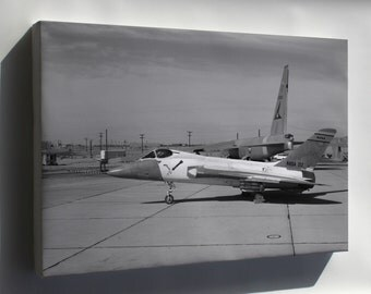 Canvas 24x36; F5D Skylancer Nasa 212 Modified As X-20 Dyna-Soar 1961