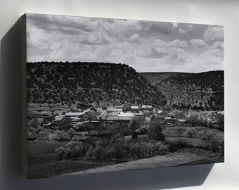 Canvas 16x24; El Cerrito, San Miguel County, New Mexico 1941