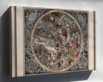 Canvas 16x24; Northern Constellations 1708 Zodiac Astrology P5