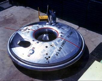 16x24 Poster; Avrocar Flying Saucer
