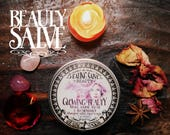 Youth and Beauty Balm *Glowing Beauty* with Essential Oils, herbs and crystals - Rose, Rosemary, Star Anise & Tiger's Eye (60gr - 2.1oz)