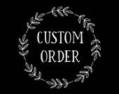 Custom Listing for GINA // 8x10 Print