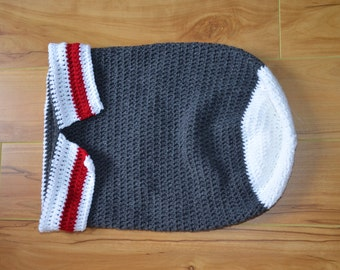 Cocoon for baby, nest of Angel for baby, blanket baby, Crochet for baby, gift for baby, low appearance of wool
