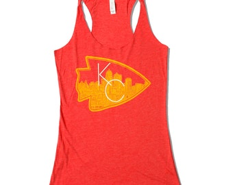 Kansas City Arrowhead Racerback Tank