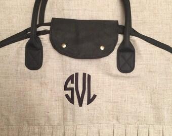 Monogrammed Hanging Bag - Personalized Ladies Garment Bag - Travel Bag - Garment Bag - Bridesmaid Gift - Girls Garment Bag - Dress Bag