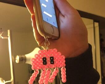 Glow in the Dark Jellyfish Cellphone Charm