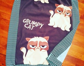 Grumpy Cat Skirt in Girls Size 8/10