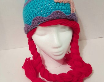 The Little Mermaid Ariel crochet hat