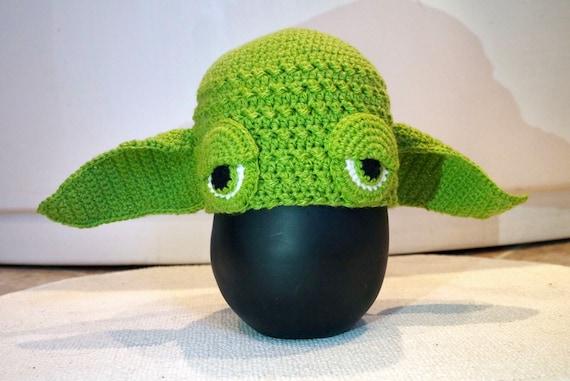 Yoda Hat Crochet Pattern Yoda Gloves Crochet Pattern Set