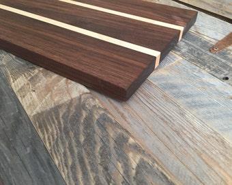 American Walnut & Maple Cutting board