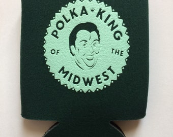 Home Alone Drink Cozie Polka King of the Midwest, John Candy