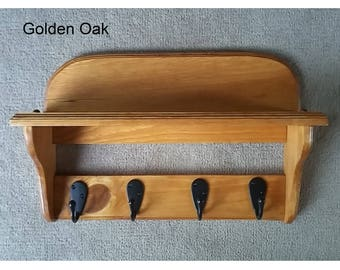Open Wall Coat Hook With Shelf