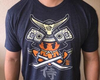 Tako samurai tshirt