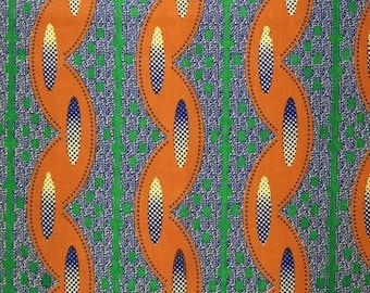 African cotton timeline trance decorative fabric