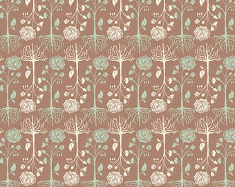 Cultivate - Bonnie Christine for Art Gallery Fabrics - Rooted Earth - Fabric By the Half Yard