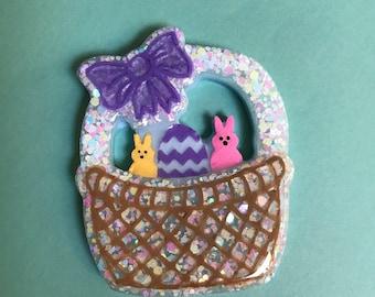 Easter Basket Brooch