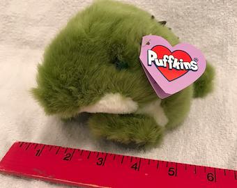 Puffkins Alligator Plush Toy