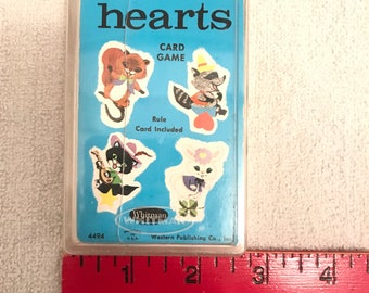 Vintage Whitman Hearts Card Game