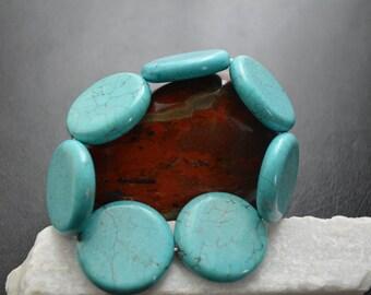Large Turquoise Bracelet