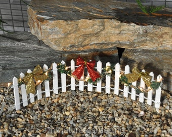 Make Spirits Bright for Miniature Garden, Fairy Garden