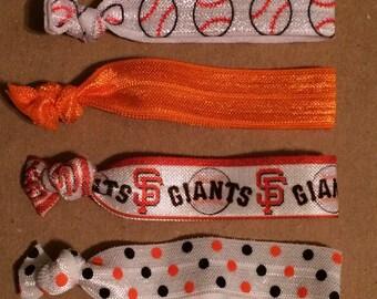 San Francisco Giants Elastic Hair Ties