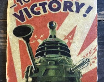 Doctor Who Victory! Dalek Coaster or Decor Accent
