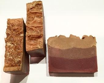 Patchouli Buzz Soap, Patchouli Soap, Cold Process Soap, Honey Soap, Fruit Soap, Lemon Soap, Homemade Soap, Handmade Soap, Candied Fruit Soap