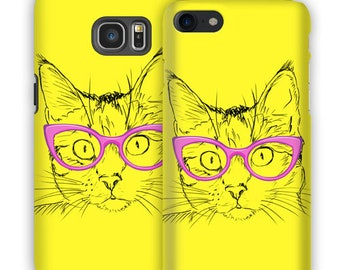 Snap Phone Case Cover for Apple iPhone Glasses iPersonalised