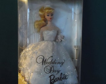 Mattel Wedding Day Barbie Doll Blonde hair