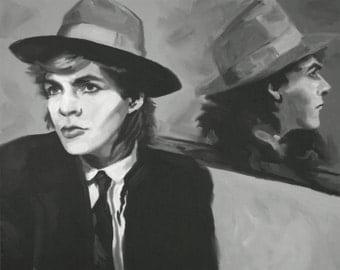 Nick Rhodes Fine Art Print (Duran Duran - New Wave - Synthpop - Notorious - The Reflex - New Romantic - Musician Portrait - 80s - Icons)
