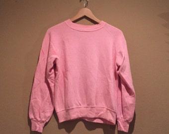 Pastel pink sweater | Etsy
