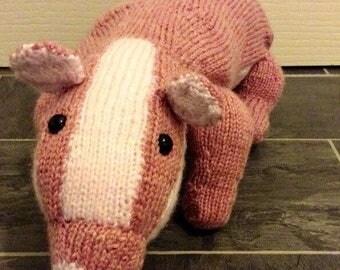 Pink Badger, Woodland badger, soft toy badger, badger plushie, soft toy animal, toy animal, BADGER, toy badger, animal toy, childs soft toy,