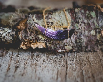 feather necklace|wampum feather necklace | wampum necklace|wampum jewelry|martha's vineyard|shell necklace|purple shell necklace