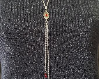 Necklace, Long Chain Necklace, Boho Necklace ,