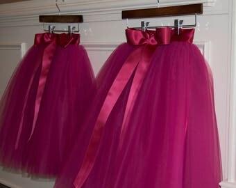 softest tutu, Girls Tulle skirts, flower girl tutu,Soft Tulle,Flower Girls CUSTOM sewn tutus for Girls,