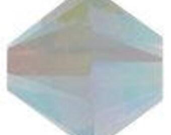 Swarovski Crystal Bicone Beads 5328 - 4mm 6mm - Air Blue Opal AB 2X