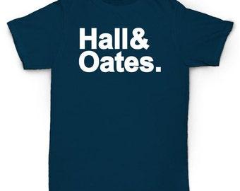 Hall & Oats T Shirt Rock Soul Funk Rare Vinyl Questlove