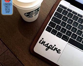 Inspire Macbook / Laptop Vinyl Decal