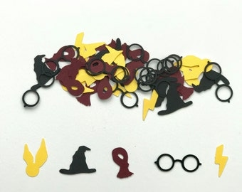 Harry Potter Confetti / Harry Potter Decor / Harry Potter Birthday /Hogwarts Party /HP Theme / Hogwarts Confetti - Created by Confetti Betti