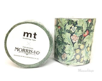 Kamoi mt x William Morris Vol.2 - Leicester washi tape (T01079)