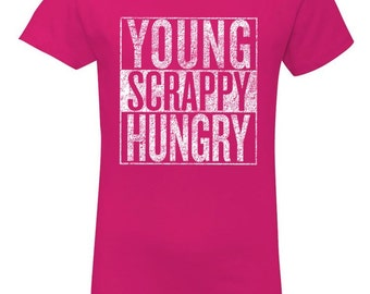 Hamilton Shirt Kids, Young Scrappy Hungry, Hamilton the Musical, Hamilton Lover Girls T-Shirt, Theatre Geek, Christmas Gift