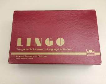 Vintage Lingo Game!!!