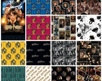 Harry Potter Pre-Cut Bundle - Panel + 14 Fat Quarters - Entire Collection!
