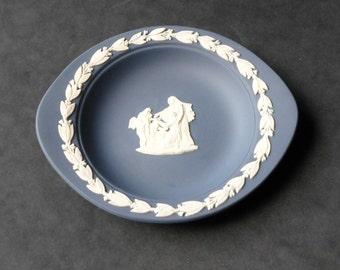 Wedgwood Portland Jasperware Pin Dish